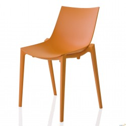 Chaise empilable ZARTAN Orange