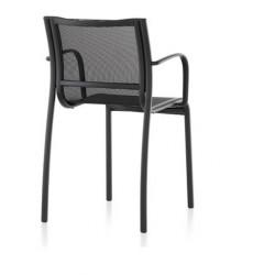 fauteuil indoor et outdoor PASO DOBLE CHAIR  - noir