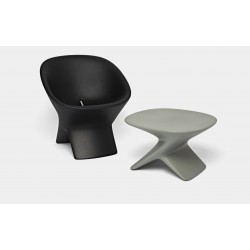 Fauteuil indoor outdoor UBLO - avec table ublo