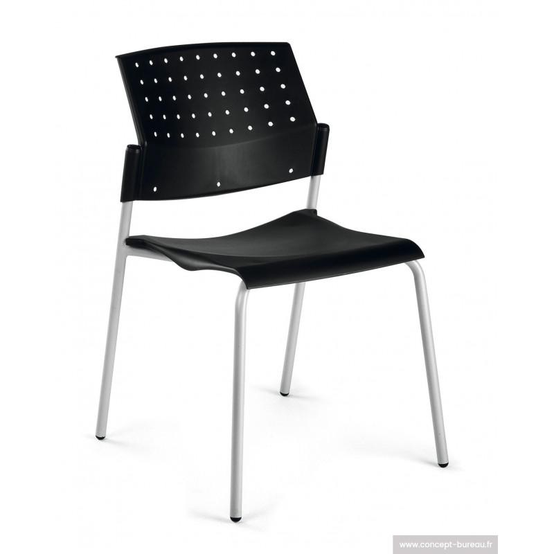 Chaise coque polypro SILLA