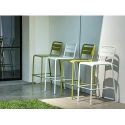 Tabouret haut outdoor STAR
