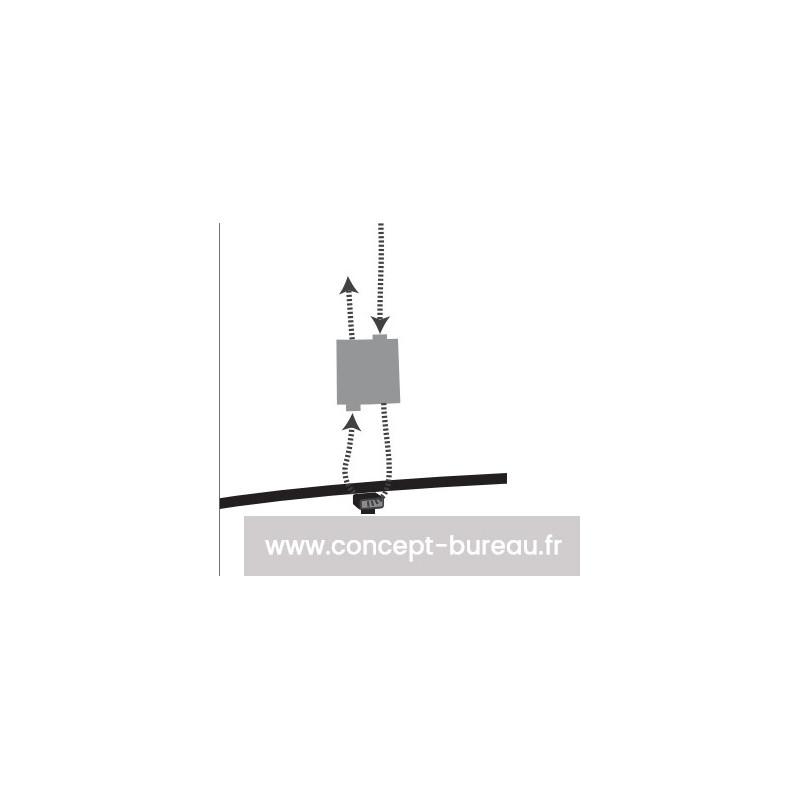 Système de fixation pour panneau acoustique ISOWORK