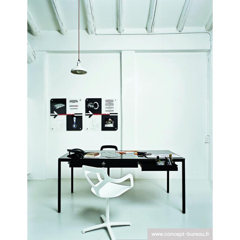 Table de travail avec tiroirs Helsinki