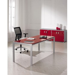 Bureau de direction design en verre CEVISE