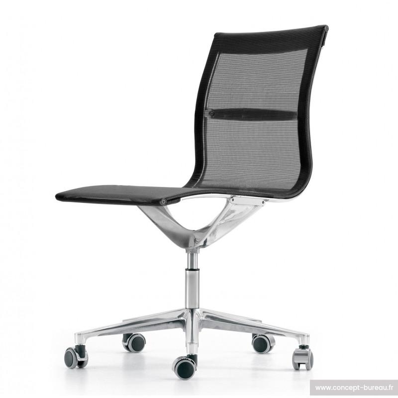 chaise de réunion en résille RUNA