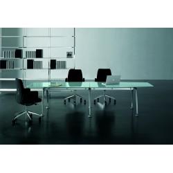 Table de réunion en verre APAKI