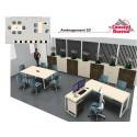 Plan d'aménagement de bureaux