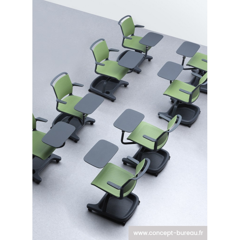 chaise avec tablette sandalye. Black Bedroom Furniture Sets. Home Design Ideas