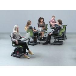 Chaise avec tablette écritoire SANDALYE