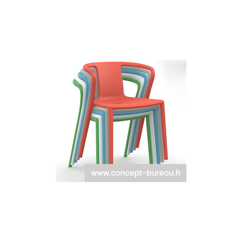 Fauteuil empilable indoor/outdoor AIR ARMCHAIR