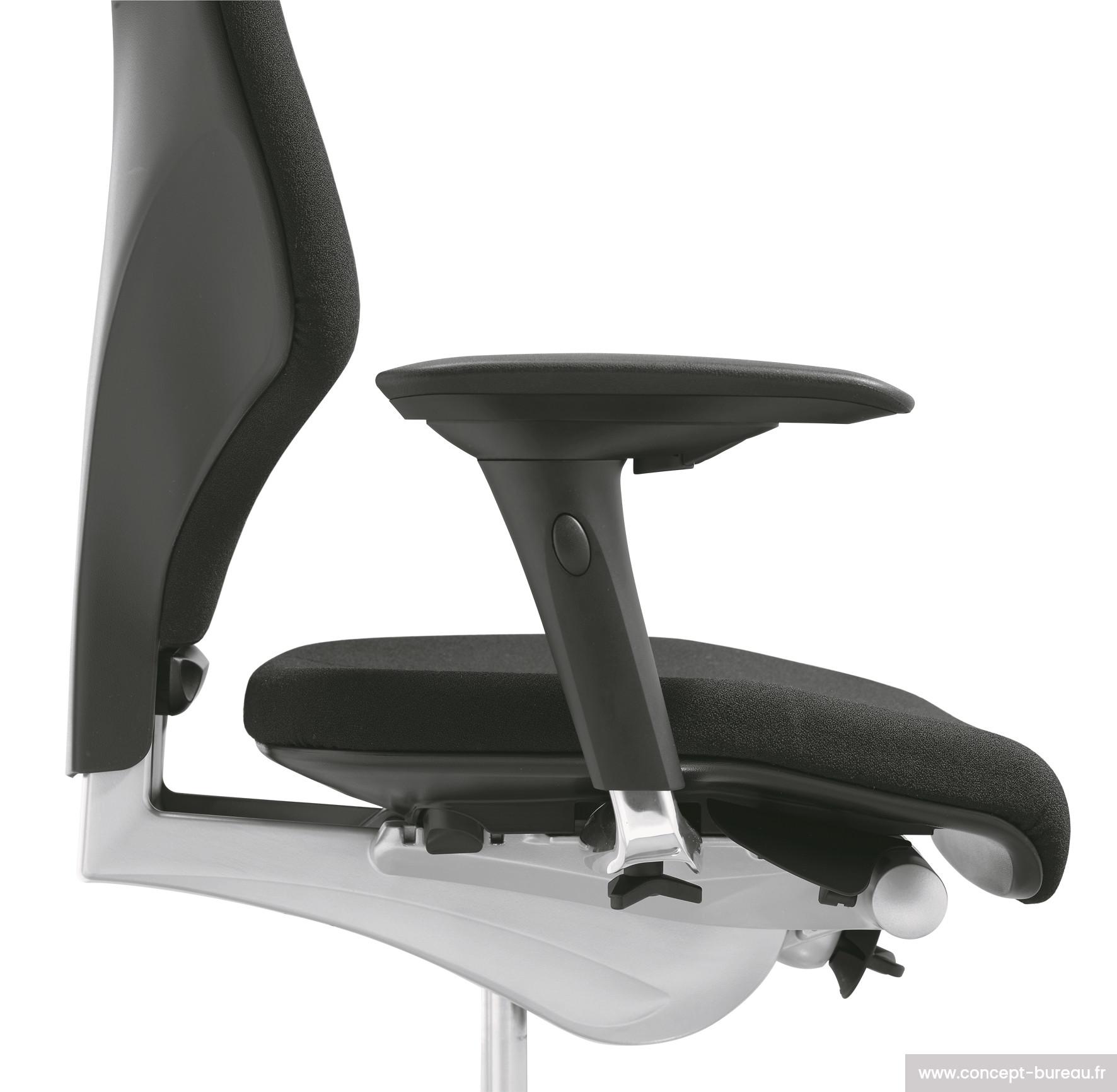 Fauteuil de bureau ergonomique spcial mal de dos Giroflex 64