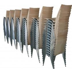 Chaise bois LOGOCHAIR