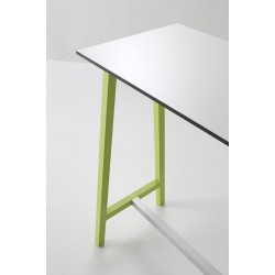 Table haute design STEP