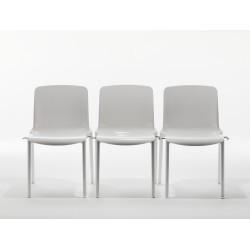 lot de 2 chaises avec coque en nylon TIFFANY