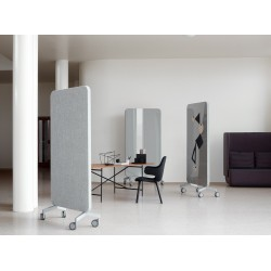 cloison mobile acoustique et magn tique glass. Black Bedroom Furniture Sets. Home Design Ideas