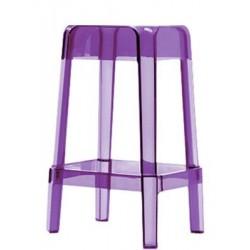 Tabouret mi-haut RUBIK - violet