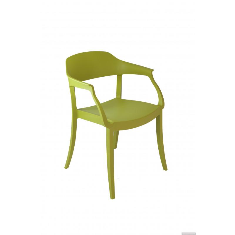 Fauteuil design en polypro WARNA