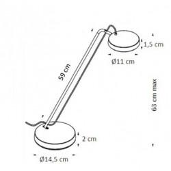 Lampe de bureau design à LED - FENY