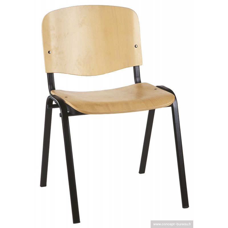 Chaise coque en bois VENUS