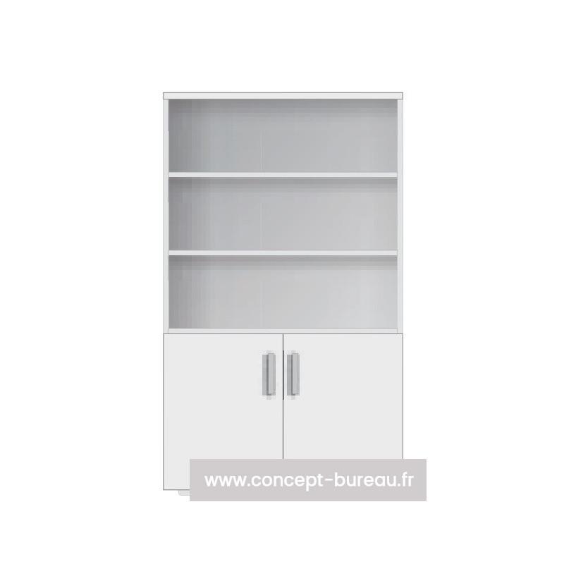 Armoire haute bibliothèque - MARLOTTE