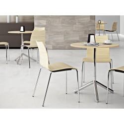 Chaise kafette avec sa coque en bois facile à entretenir