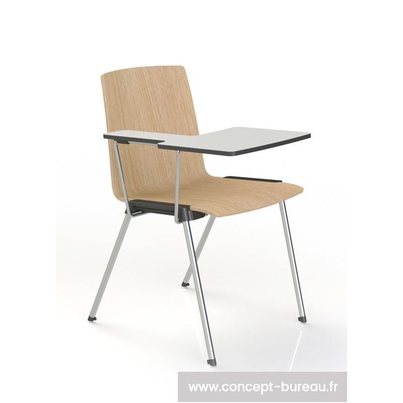 chaise avec tablette hox. Black Bedroom Furniture Sets. Home Design Ideas
