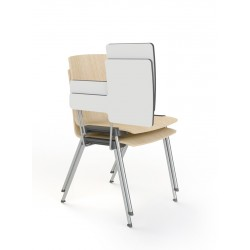 Chaise avec tablette pour mobilier de formation