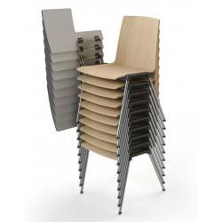 Chaise avec tablette HOX