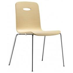 Chaise avec coque en bois GULP