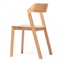 Chaise avec coque en bois Arta