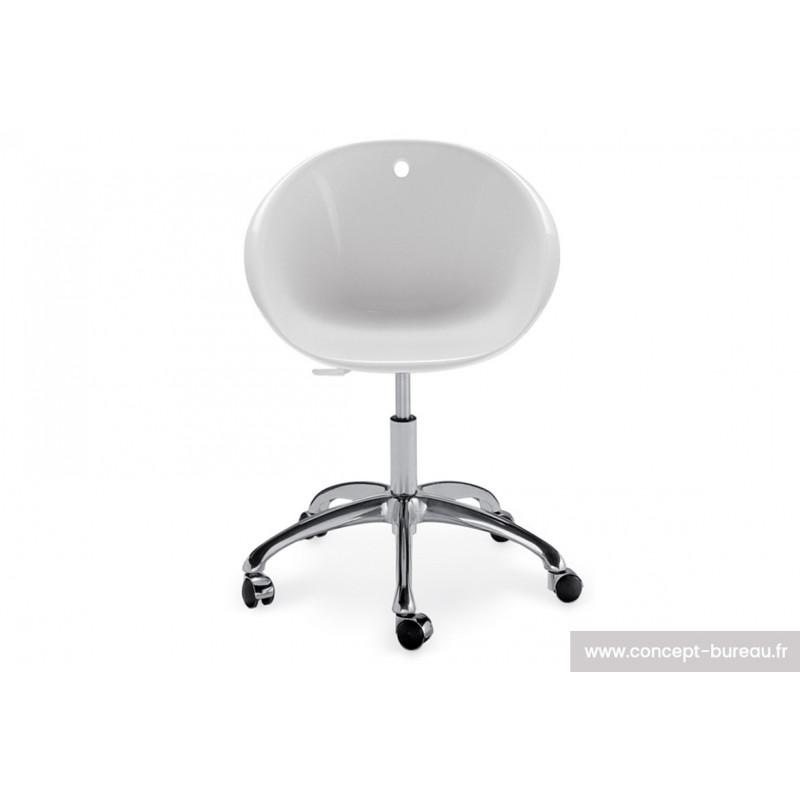Chaise avec coque en polypro GLISS 5P