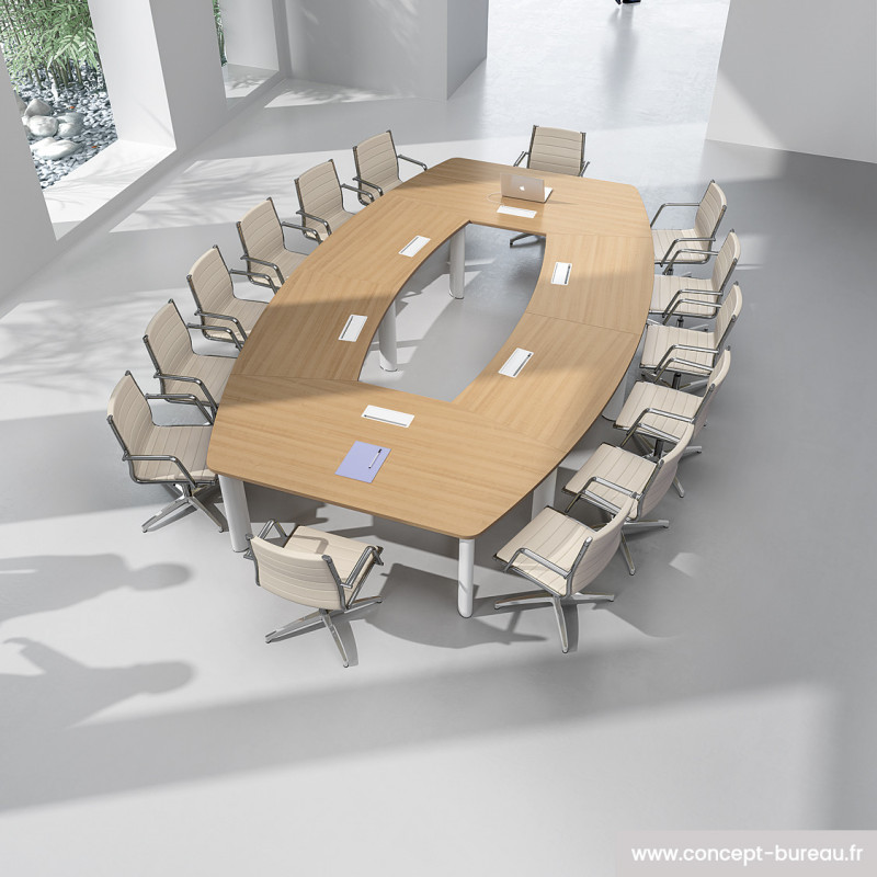 Table de reunion stratifie Fregate