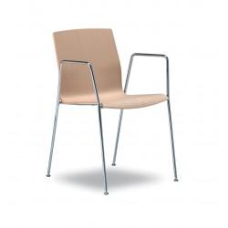 chaise coque bois - Kimbox