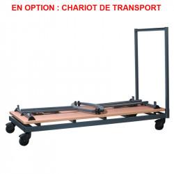 Chariot de transport pour table pliante réunion
