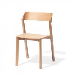Chaise de restaurant en bois
