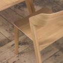 chaise de cafétéria