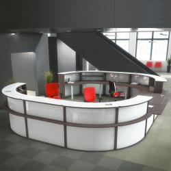 Banque d'accueil design