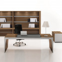 Bureau de direction design en bois moderne