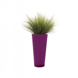 Plante artificielle en pot rond - GRAMINEES