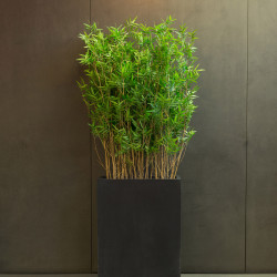 Plante verte artificielle pour bureau BAMBOU