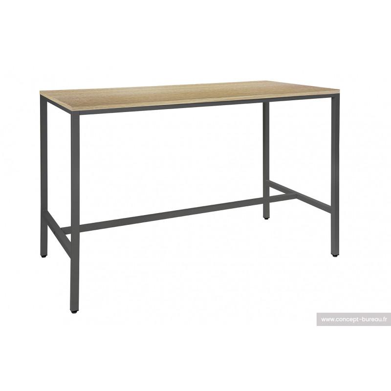 Table haute rectangulaire JASLI