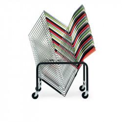 Chariot pour chaise tablette écritoire