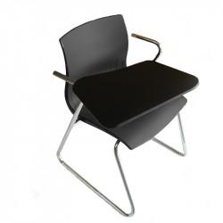 Chaise avec tablette écritoire pour ordinateur portable
