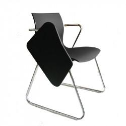 Chaise de formation avec tablette écritoire design