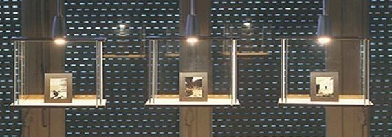 Vitrines d'exposition: vitrines pour exposer, mobilier d'accueil - Concept Bureau