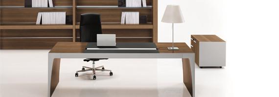 Bureaux de direction en bois, bureau en ébénesterie