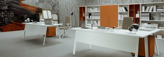 Bureau individuel, bureau NF environnement