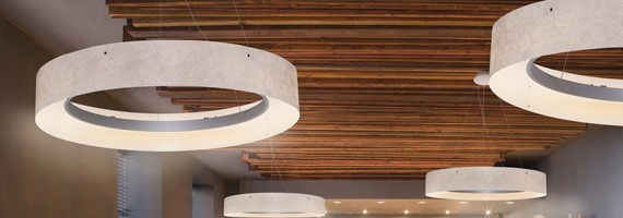 Plafonnier et luminaire suspendus design