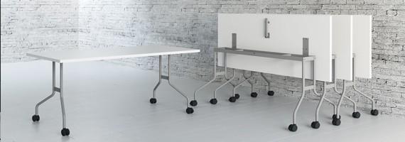 Tables gain de place, mobilier de réunion