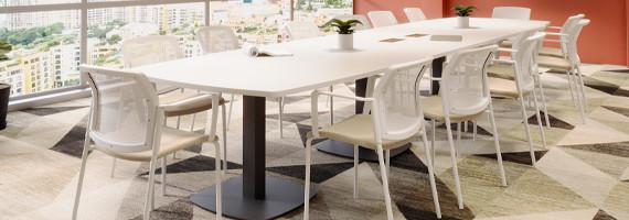 Sièges de réunion design et confort, mobilier de réunion